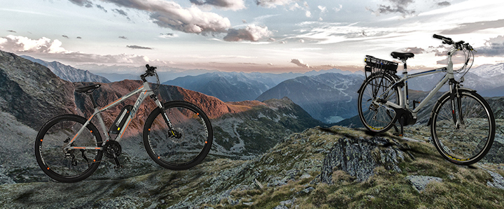 Mountain with ebike V2