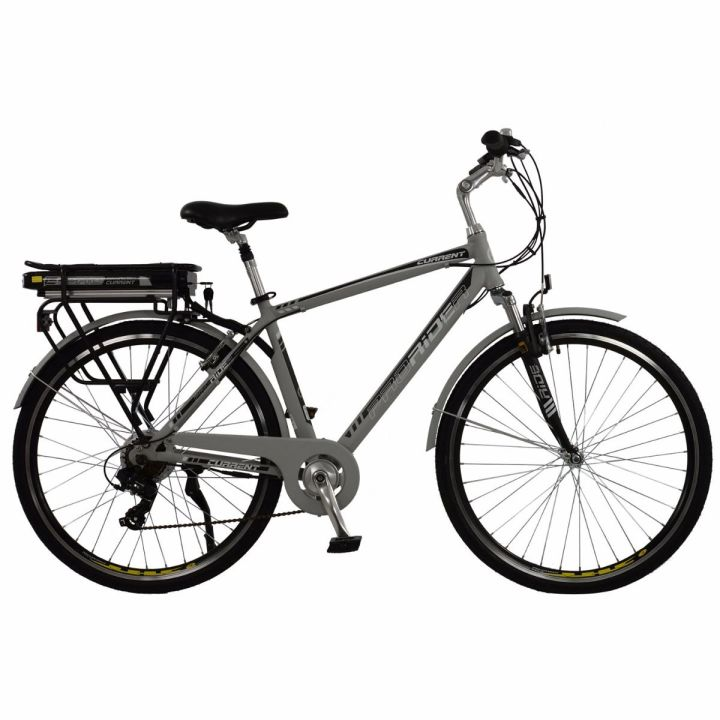 Hybrid electric bike frame