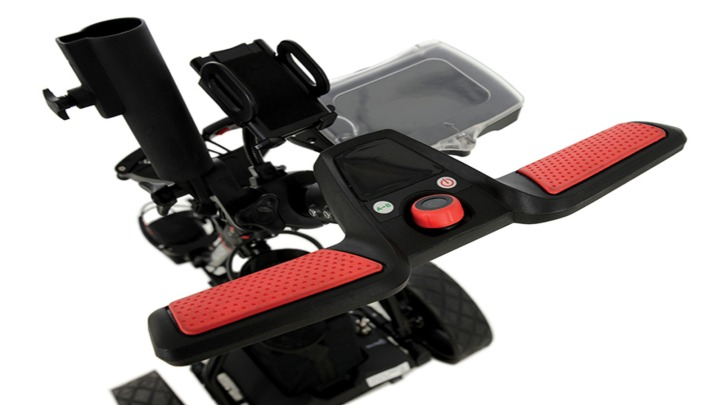 Electric golf trolley accessories