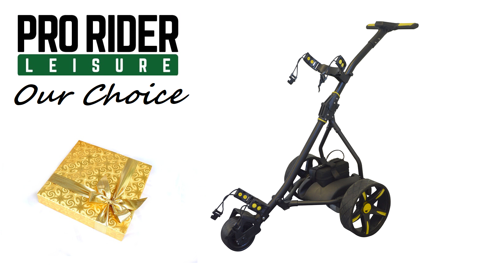Pro Rider Electric Golf with Present and text